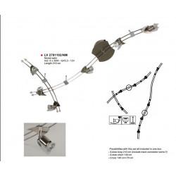 Spot Pauly - RAIL-SET NIKKEL-MAT L210 6X35W/12V - VERDACE