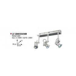 SPOT CRUSH/4V XGZ10-50W-230V BRONS - VERDACE