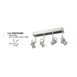 SPOT HEXA/4L XGZ10-50W-230V BRONS