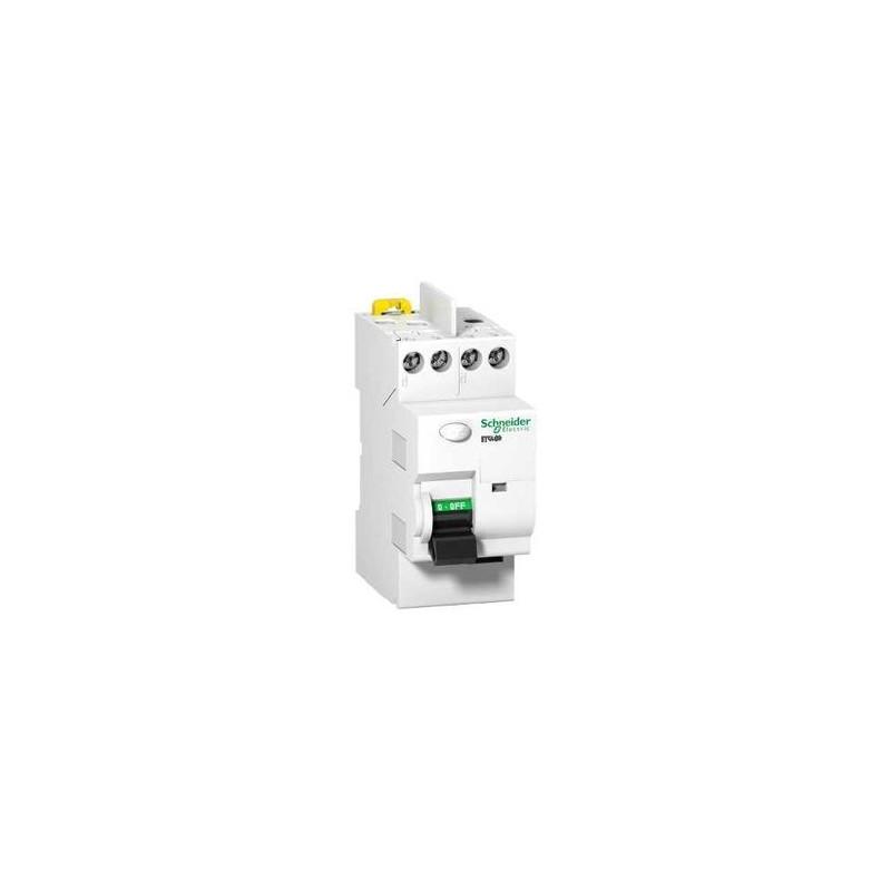 acti9 interrupteur différentiel 2p 25a 300ma type ac - schneider ... - Disjoncteur Differentiel Pour Salle De Bain