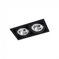 Multidir trimless 2XGU10 blanc - LEDS-C4