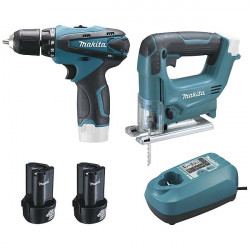 Ensemble 2 machines 10,8 V Li-Ion - MAKITA
