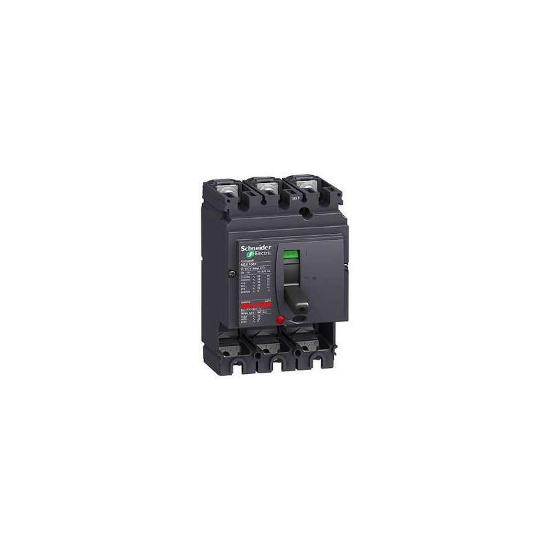 NSX100L 3P SANS DECLENCHEUR DISJONCTEUR COMPACT (LV429005 ...
