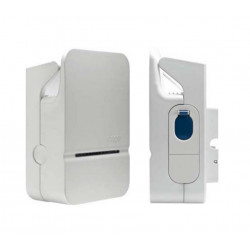 Borne de charge Mode 3 Type 3 Accès libre - Ph+N 32A (XEV101) - HAGER 3 Semaines