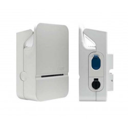 Borne de charge Mode 3 Type3/Mode 2 Accès libre - Ph+N 32A (XEV102) - HAGER 3 Semaines