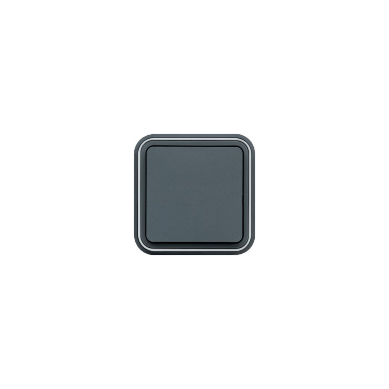 cubyko Va-et-Vient encastré gris (WNE001) - HAGER