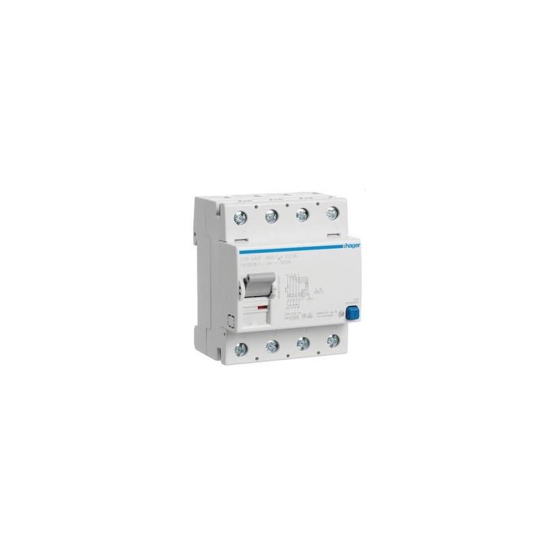 Interrupteur differentiel 4p 40a 30ma