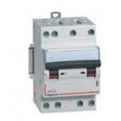 Disjoncteur dx3 4500 - vis/vis - 4p - 400 v~ - 6a - 6ka - courbe c - départ  (406906) - LEGRAND