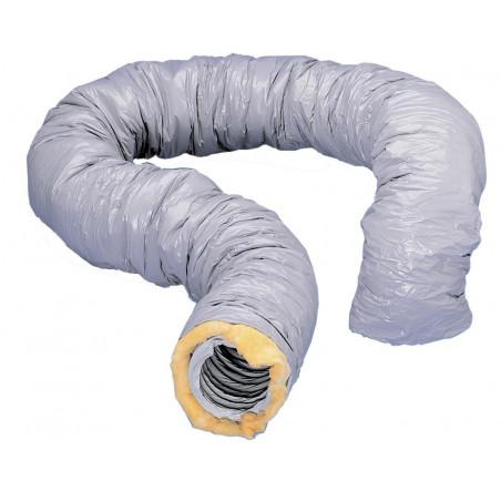 Gaine souple diamètre 125 PVC isolée (813922)