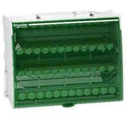 Linergy DS, répartiteur étagé tétrapolaire 125 A 4x12 trous (LGY412548) - SCHNEIDER