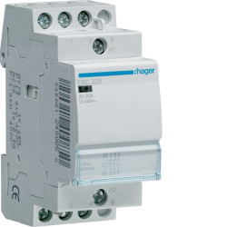 Contacteur 25A 3F 230V (ESC325) - HAGER