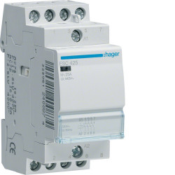 Contacteur 25A 4F 230V (ESC425) - HAGER