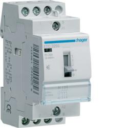 Contacteur JN 25A 3F 230V (ETC325) - HAGER