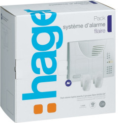 Pack alarme LS filaire, 2 gr, 4 boucles. (SK332-22F) - HAGER