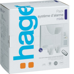 Pack système d'alarme intrusion LS mixte (SK318-22F) - HAGER