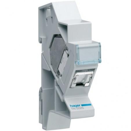 Connecteur RJ45 cat.6 STP + support (TN002S)