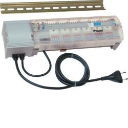 6 sorties pour chauffage eau chaude KNX (TX206H) - HAGER