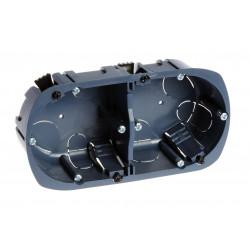 Boîte double Multimatériaux 67x40mm - EUROHM