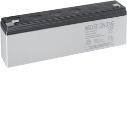 Batterie sirène extérieure 2AH (HAG BATPB2) - HAGER