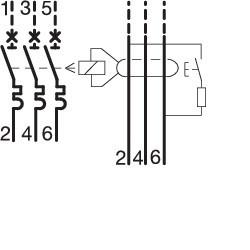 Bloc dif 3P 125A 30mA AC...