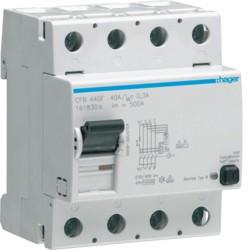 Inter dif 4P 40A 300mA B (HAG CFB440F) - HAGER