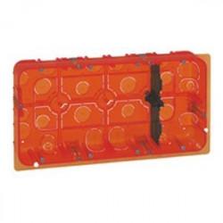 Boîte multimatériaux Batibox - grand format - pour Mosaic 2x10 mod - prof 50  (LEG 080128) - LEGRAND