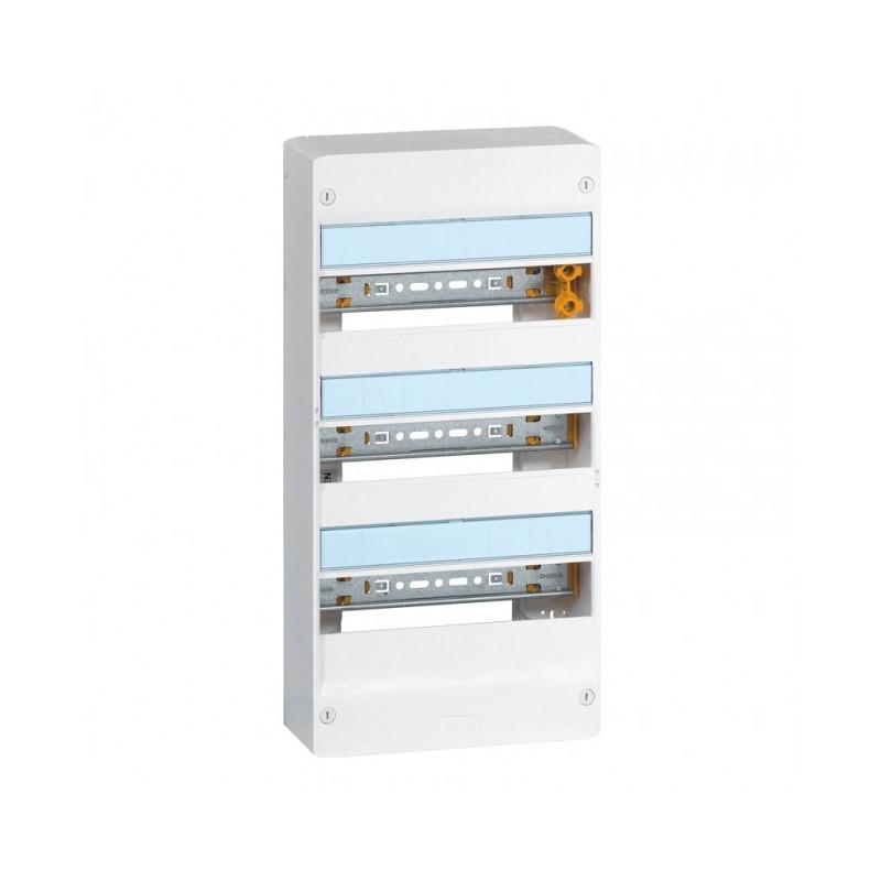 Coffret 3 rangées 13 Mod - Ip 30 - Ik05 - Blanc Ral 9010 (401213) - LEGRAND