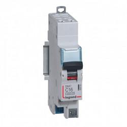 Disjoncteur DNX3 4500 - auto/auto - U+N 230V~ 16A - 4,5kA - courbe C - 1 mod (406783) - LEGRAND