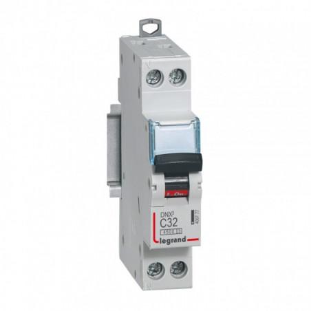 Disjoncteur DNX 32A - Uni+N -230 V- À Vis (406777) - LEGRAND