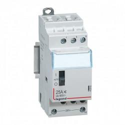 Contacteur Standard Heures Creuses Lexic - 3P - 400 V - 25 A - 3F (412502) - LEGRAND