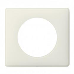 Plaque Céliane - Poudré - 1 poste - Craie (066701) - LEGRAND