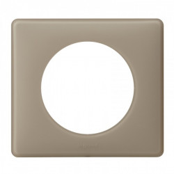 Plaque Céliane - Poudré - 1 poste - Grès (066721) - LEGRAND