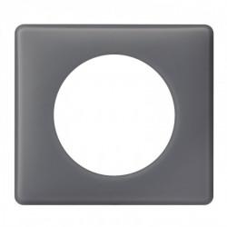 Plaque Céliane - Poudré - 1 poste - Schiste (066731) - LEGRAND