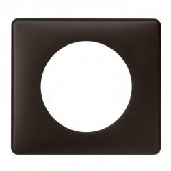 Plaque Céliane - Poudré - 1 poste - Basalte (066741) - LEGRAND
