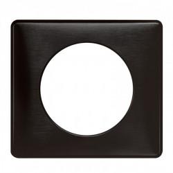 Plaque Céliane - Métal - 1 poste - Carbone (068981) - LEGRAND
