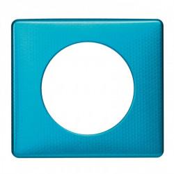 Plaque Céliane - Métal - 1 poste - Blue Snake (068771) - LEGRAND