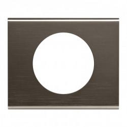 Plaque Céliane - Matières - 1 poste - Black Nickel (069031) - LEGRAND