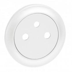 Enjoliveur Céliane - prise 2P+T Surface - blanc (068111) - LEGRAND