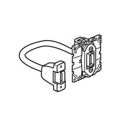 Prise audio/vidéo HDMI type A Céliane - pré-connectorisée (067377) - LEGRAND