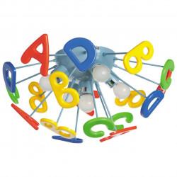 Plafonnier Alphabet 5x40W E14