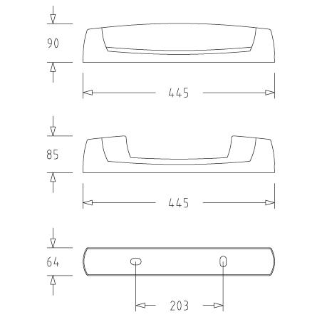 EO AVEC PC 2P+T + DIFFUSEUR SSL (055214) - EBENOID
