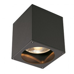 BIG THEO OUT plafonnier carré anthracite ES111 max 75W - SLV