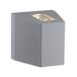 OUT BEAM LED 1 faisceau applique gris argent 8.3W 3000K - SLV