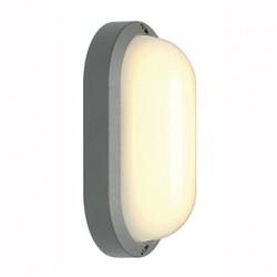 TERANG 2 applique et plafonnier ovale gris argent 11W LED 3000K - SLV