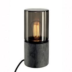 LISENNE-O lampe à poser ronde E27 max 23W interrupteur et fiche inclus - SLV