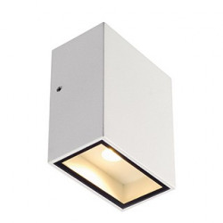QUAD 1 XL applique carrée blanche LED 1x3.2W 3000K IP44 - SLV