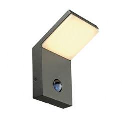 ORDI applique LED anthracite 3000K 9W avec détecteur de mouvement - SLV