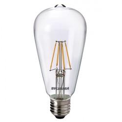 Lampe LED ToLEDo RT ST64 CL 470lm E27 SL - SYLVANIA