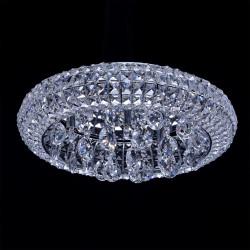 chrome colour/metal crystal bulbs included 7*40W G9 - MW-HANDEL