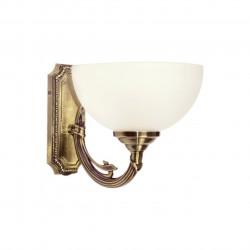 brass colour/metal glass 1*60W E27 - MW-HANDEL